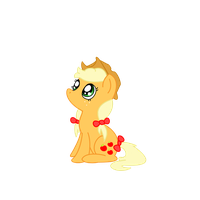 Mlp fim Little AJ by MlpFimColordrop