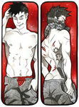 Bookmark commission - Hem1ngway by TwistedAsphyxia