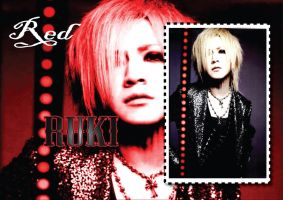 Ruki-RED-Wallpaper by Zetsunine
