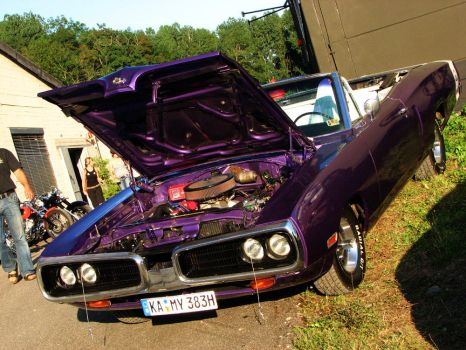 plum crazy superbee by AmericanMuscle