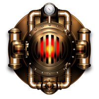 Heating boiler icon by IllustratorG