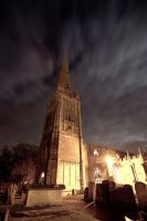 Church Spire (retouched) by GeorgeAmies