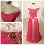 Sleeping Beauty Pink Dress Cosplay by glimmerwood