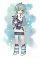 commission: Aoba (Chibiba) by Memipong