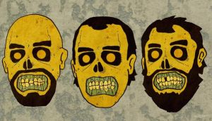Zombie Heads by Hartter