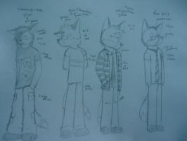 My Styles From 1st -8th grade by 1000VoltFox
