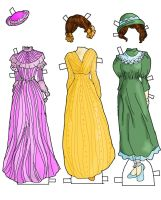 Betsy Jane Dresses colored by electricjesuscorpse