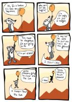 Badger comic by Scurrow