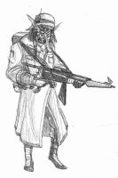 Circasian Trooper by Bronze-Corsair