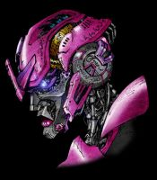 Movie Arcee Mark II Colour by channandeller