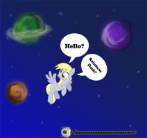 Derpy Lost in Space by cosplay-kitty