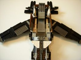 Gunnery Plane -underside- by Give1000Smiles