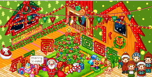 Holiday Room by PsychologicalToaster