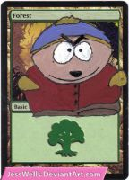Altered Magic Card: Cartman by JessWells