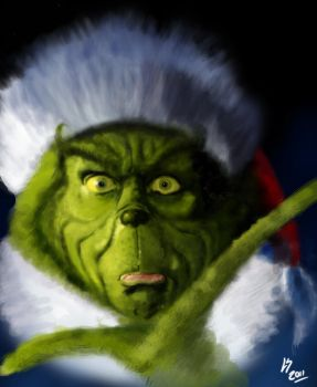 Grinch Paint by Lu-Sc92