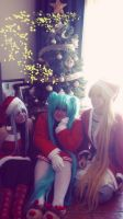 Vocaloid - Merry Xmas by CherryMemories