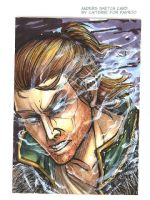 Anders Sketch Card by notationn