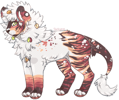 liontiger thing auction [closed] by stellamei