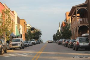 Looking up 8th Street by Rjet33