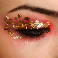 As Rich As a Lannister- House Lannister Makeup by Lally-Hime