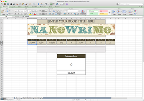 NaNoWriMo Word Counter by ForgottenGold