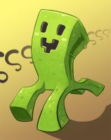 Happy Little Creeper by Resident-Jade