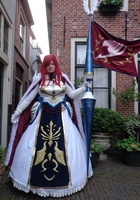 Erza farewell armor by envoysoldier