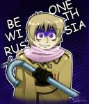 Become one with RUSSIA colored by AirRider