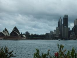 Sydney Cloudy 1 by BioVenomImagery