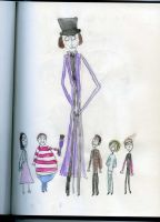Willy Wonka and the Kids by TimBurtonSon77