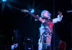 LAII: Kamael on stage of Cosplay Rush - cruason by ElenaLeetah