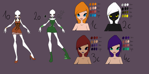 KGF's Winx Adoptables 6 by KillerGirlFuria