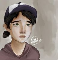 The Walking Dead - Clementine by LullaTheOtaku