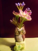 The Owl Vase by Artzy-chick