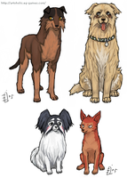 Bleach Doggies 4 by emlan