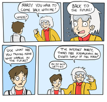 Back to the Future by camac