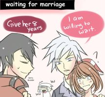 .: Daiharu Comics // Waiting by Innocentfate