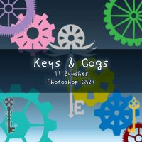 Keys + Cogs by kabocha