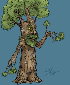 Treeman 1 by TheNurge
