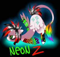 Neon Z by Black-Rose-Emy