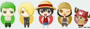 One Piece - Chibi by Lylia-chan