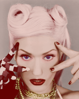 Gwen Stefani Colourization by jessiesquash