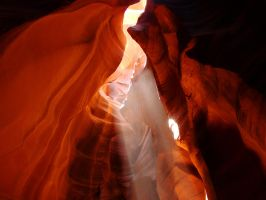 Light in Antelope Canyon 3 by Geotripper