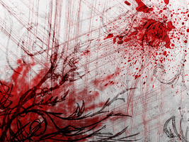 Blood Plants Background by Kida-Ookami