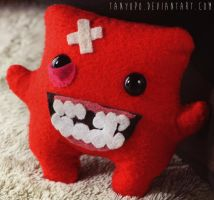 Meat Boy Plushie by tanyopo
