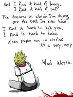 KH: Mad World by Kumagorochan