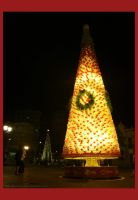 Christmas Tree Made Of Bottles by Van-Golliaz