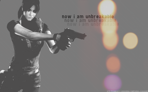unbreakable -Claire Redfield- by QuidxProxQuo