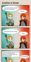 [DA2] Aveline is Great by koogee4