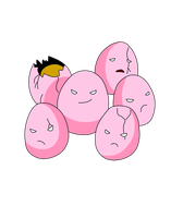 .:Grass Collab-Exeggcute:.